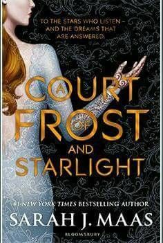 A Court Of Frost And Starlight Roses Book Sarah J Sarah J Maas