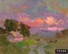 abstract landscape oil paintings - Google Search