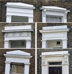 easy greek revival window molding   read about: Bolection moulding, in the Extraordinary Book of Doors ...