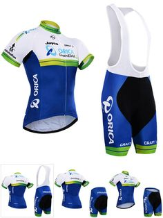 [Visit to Buy] 2016 New  team Cycling jersey bike short gel pad Greenedge bike wear MTB Ropa Ciclismo pro Bicycling jersey Maillot Culotte #Advertisement