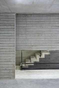 Gallery of Armenia Building / Luciano Kruk + María Victoria Besonías - 19 Public Architecture, Concrete Architecture, Contemporary Architecture, Interior Architecture, Interior Design, Board Formed Concrete, Concrete Stairs, Exposed Concrete, Armenia