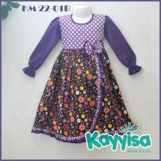 Baju Muslim Anak KAYYISA KM22-01A