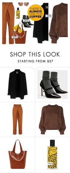 """""""my date with gatsby :)))"""" by gabrielleleroy ❤ liked on Polyvore featuring Pinko, Proenza Schouler, Isabel Marant, Frye, Marni and CoffeeDate"""