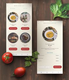 Delivery mobile app for Happy Kitchen at Changi Airport.