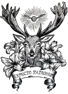 This is a special Harry Potter tattoo design. Fanart Harry Potter, Harry Potter Tattoos, Harry Potter Sketch, Harry Potter Quilt, Harry Potter Drawings, Harry Potter Fan Art, Harry Potter Halloween, Expecto Patronum Tattoo, Estilo Harry Potter