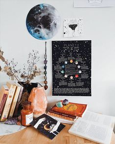 Planets - Meanings and Symbols Poster, Astrology Poster - Planeten – Bedeutungen und Symbole Poster, Astrologie-Plakat Source by bussal Uni Room, Dorm Room, Decoration Bedroom, Room Decorations, Tumblr Rooms, Basement Bedrooms, Aesthetic Room Decor, Decorate Your Room, Home And Deco