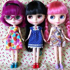 My Blythe Dolls (so far)