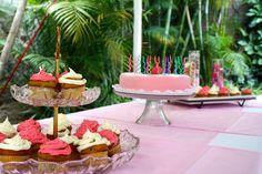 Pink Party Mesa de postres tan rosa como el resto de la fiesta