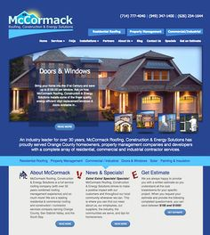 McCormack Roofing Crisp photography and simplified navigation is featured in this site for this roofing  sc 1 st  Pinterest & Delphi Display Systems Estey-Hoover created this easy to navigate ... memphite.com