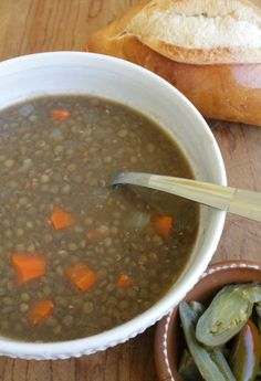 Mexican Lentil Soup, or Sopa de Lentejas, is a warm taste of home. A comforting and cozy bowl of goodness. Hope you enjoy!