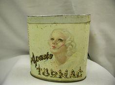 Aparto Turmac Vintage Cigarette Pocket Tobacco Tin