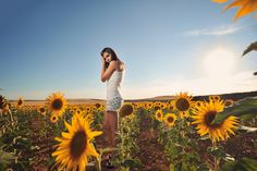 portrait, outdoors, sun light, natural light, field, colorful
