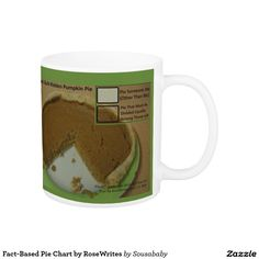 Fact-Based Pie Chart by RoseWrites Coffee Mug