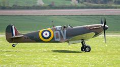 Spitfire Mk 1 N3200 Duxford April 9th 2014