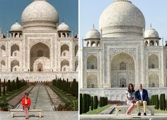 Prince William & Kate Middleton's Taj Mahal Visit Gives Princess Diana Her Happily Ever After Princess Diana, Prince William, Kate Middleton, Taj Mahal Princess Diana Death, Princes Diana, Princess Kate, Princess Of Wales, Prince William And Catherine, William Kate, Le Taj Mahal, Images Of Princess, Harry Wedding