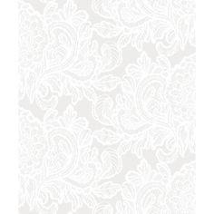 Aleksanteri tapetti valkoinen Small Space Interior Design, Interior Design Living Room, Small Spaces, Stencils, House, Design Ideas, Wallpapers, Home Decor, Decoration Home