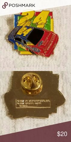 Nascar Jeff Gordon #24 Du Pont Lapel Pin 1997 This pinback is in excellent condition. Other