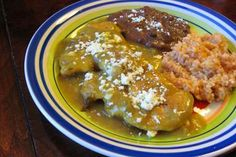 Pollo Verde: Green Chile Chicken