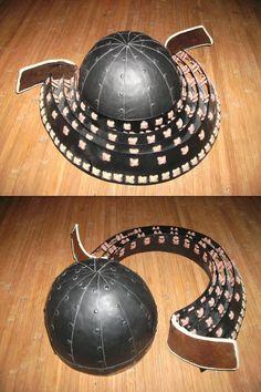Kabuto Samurai, Samurai Weapons, Samurai Helmet, Samurai Costume, Costume Armour, Larp Sword, The Last Samurai, Foam Armor, Samurai Artwork