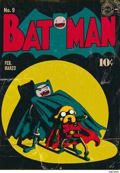 ADVENTURE TIME + BATMAN = EPIC