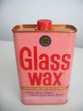 I can still smell this stuff! Vintage FULL Gold Seal Glass Wax Tin Cleaner & Polish Can, Doll Repair. Great stuff, wish we could still buy. Glass Wax, Flask, Tin, Seal, Household, Coloring, Childhood, Polish, Tools