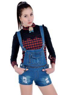 Anna-Kaci S/M Fit Blue Business Time On The Farm « Impulse Clothes