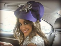Milliners to think about Part 1- Melissa Jackson- The Spring Racing  Carnival - Rebecca 3c646c2ceca