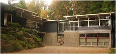 Two story mid century modern