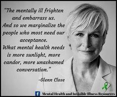 The mentally ill....