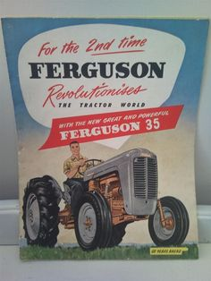 Tractor Manuals & Publications Agriculture/farming Popular Brand Massey Ferguson 29 Seed Drill Brochure