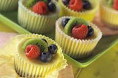 PHILADELPHIA 3-STEP Mini Cheesecakes recipe