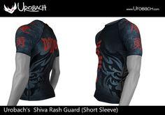 Black MMA Rash Guard