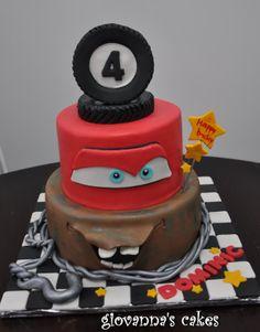 Giovannas Cakes Disneys Cars Themed Cake cakepins.com