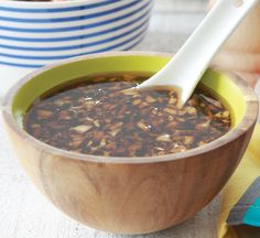 Ginger and soy marinade Give beef or lamb a bit of a kick with this ginger and soy marinade.