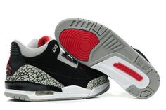 more photos 59ac3 61f56 Buy Hot Nike Air Jordan Cemenst 3 Iii Retro Mens Shoes 2012 New Fur Black  Grey from Reliable Hot Nike Air Jordan Cemenst 3 Iii Retro Mens Shoes 2012  New Fur ...