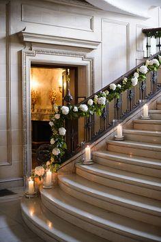 Candlelit decor #weddings #details #blisschicago