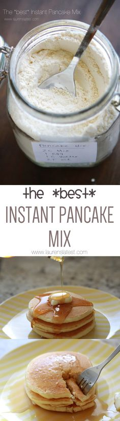 The *best* Instant Pancake Mix.
