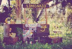 stand, lemonade stand, reverie