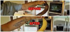Zombie Banana - bring bananas back to like with a hair dryer!