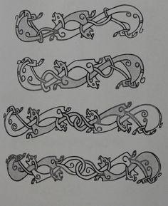 Hilt decoration patterns