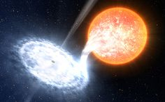 Black hole that was first to be identified in our galaxy underwent dramatic   brightening as it devoured material stripped off orbiting companion star