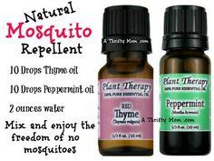 natural mosquito spray