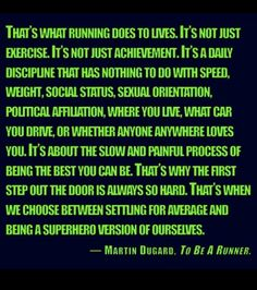 Running Quote - :) #runner #quote #discipline