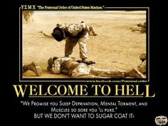 Unless you have experienced Parris Island or San Diego MCRD. I suggest talk about things you've experienced! Marines Funny, Us Marines, Female Marines, Funny Army, Marine Quotes, Usmc Quotes, Marine Corps Humor, Us Marine Corps, Usmc Humor