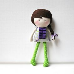 My Teeny-Tiny Doll™ Roxy by Cook You Some Noodles, via Flickr