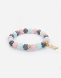 Bracelets / cats / pastels