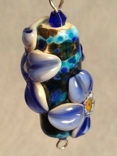 Flow103 [flow103] - $10.00 : Glass Moose Cart, handcrafted glass lampwork beads by Sandy Burnett, Lake of the Ozarks, Missouri.  glassmoose.com