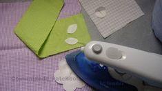 COMO FAZER APLICAÇÃO COM TERMOCOLANTE  Material  Camiseta, pano de prato ou toalha para receber a aplicação   Tecidos estampados de algodão ...