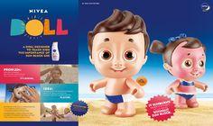 Nivea Doll, um boneco que mostrou para as crianças a importância da proteção solar