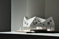 Category: Personal WorkThis house was done by JVA architects. I accidently stumbled upon it on archdaily. The complex geometry of the roof in contrast with the clean and transparent lines of the first floor fascinated me.http://www.jva.no/projects/sma…